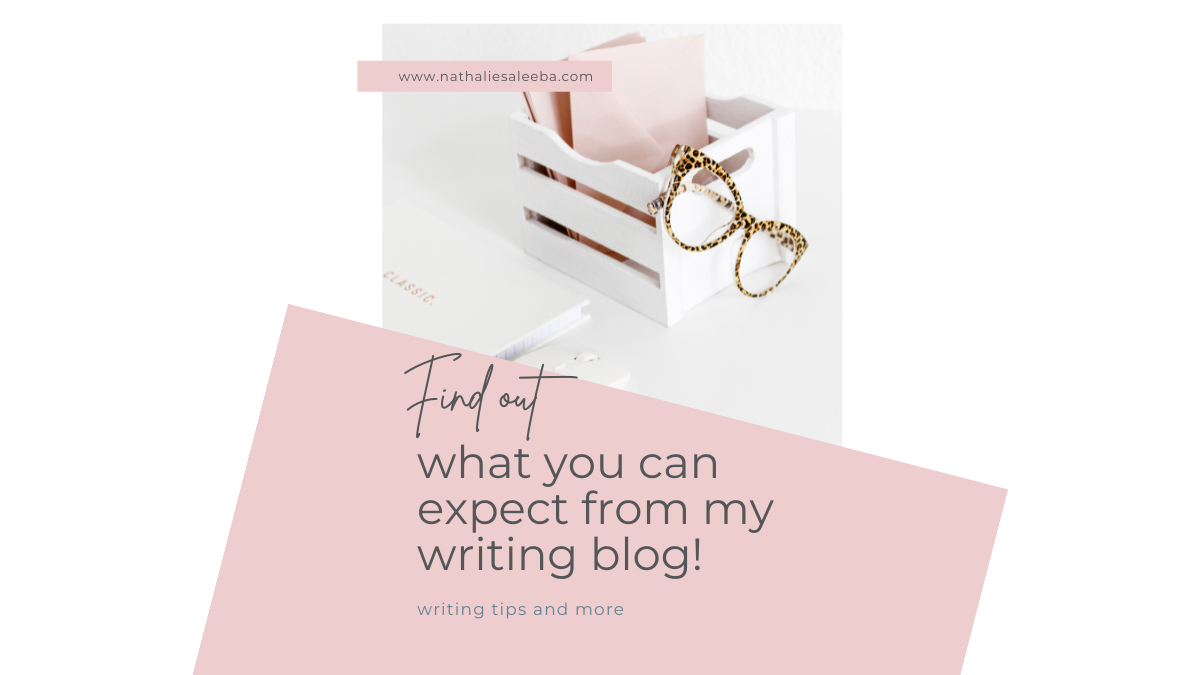 Writing tips, techniques and examples of their application. Find out what you can expect from my writing blog.
