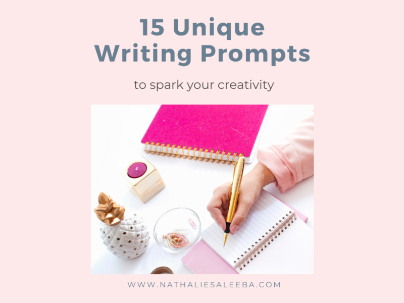 15 Unique writing prompts to spark your creativity just in time for NaNoWriMo
