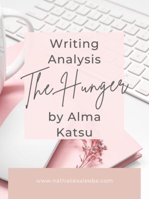 Writing Analysis The Hunger by Alma Katsu